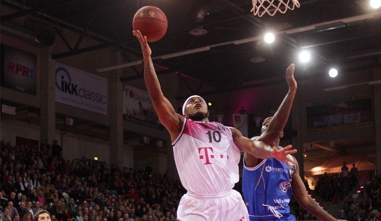 Eugene Lawrence ist Point Guard und Kapitän der Telekom Baskets Bonn