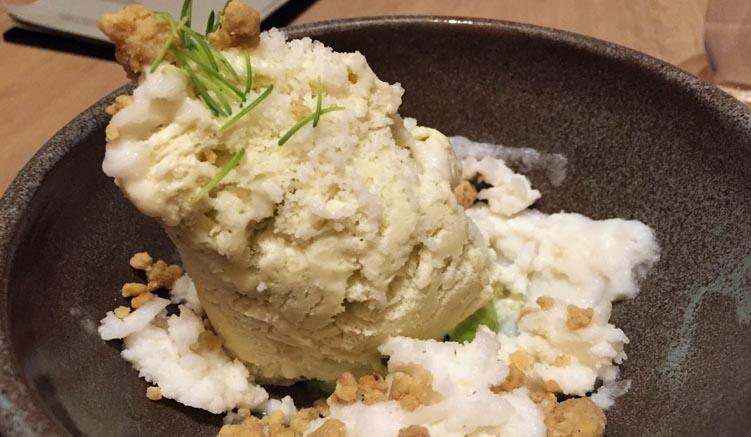 Agern-Dessert