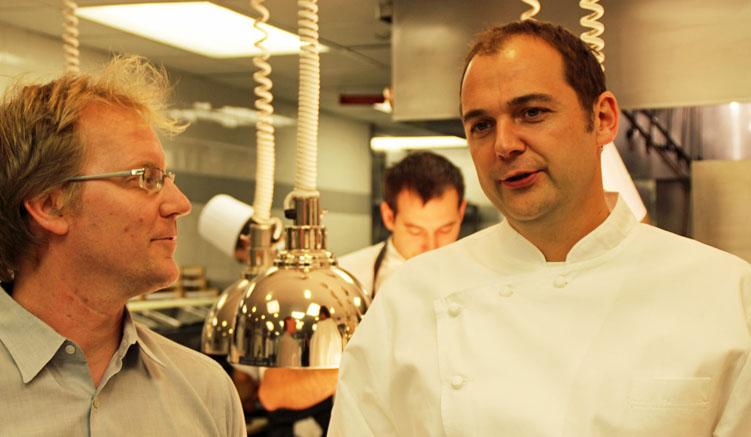 Mit Daniel Humm in der Küche des Eleven Madison Park