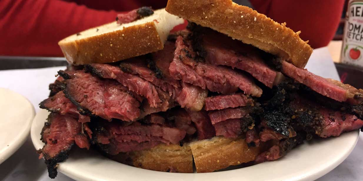 pastrami sandwich rezept