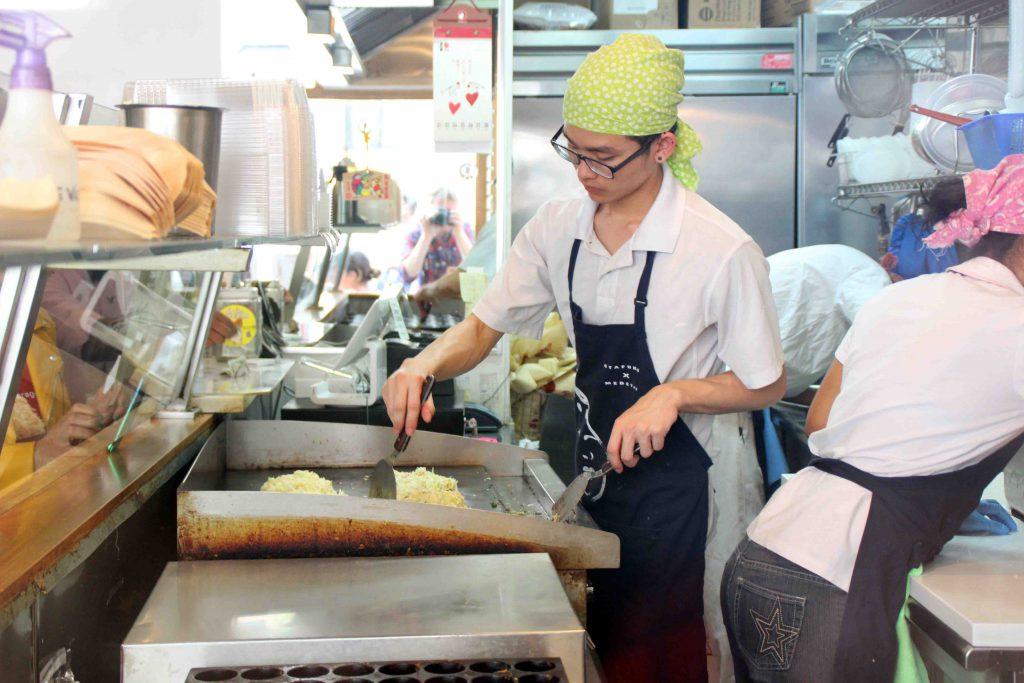 Okonomiyaki im Otafuku