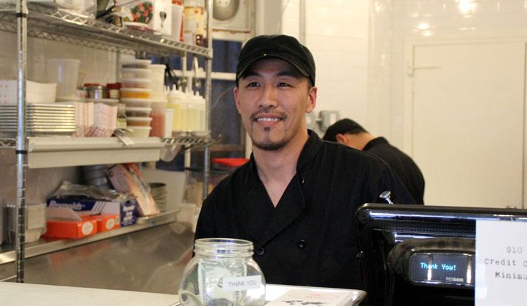 Eric Wong - Der Besitzer des Tac`n´Roll