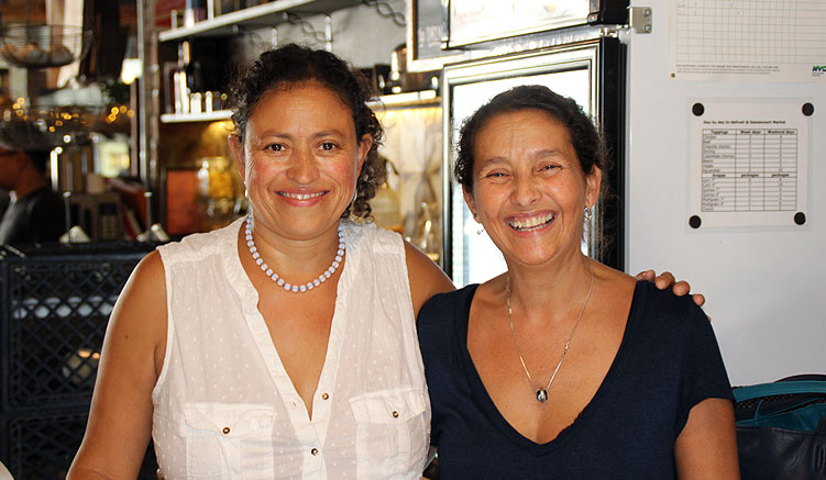 Nena Sierra (li) und Viviana Lewis
