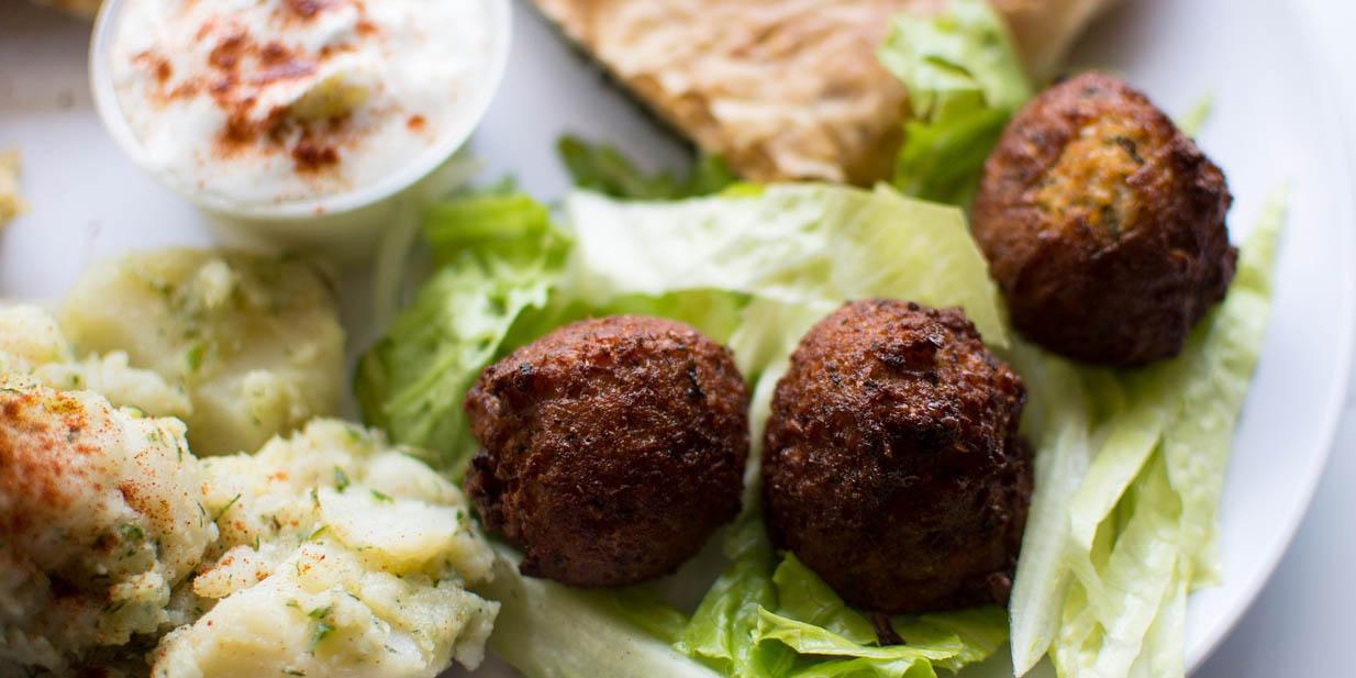 Falafel selber machen arabisches street food rezept - Cuisine bernard falafel ...