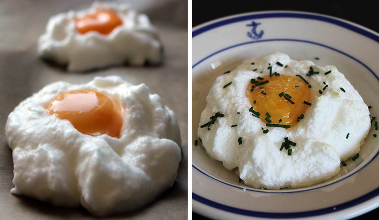 Cloud Eggs Rezept