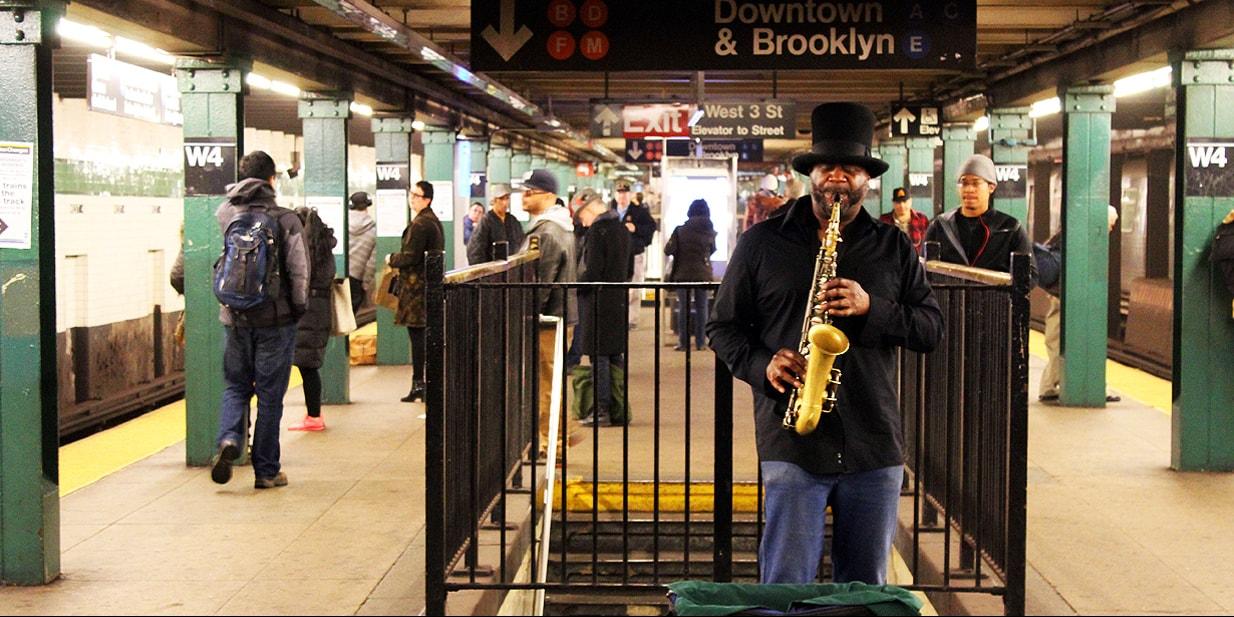 New York Video Zeitlupe